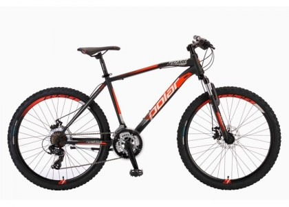 BICIKL POLAR WIZARD 1.0 black-orange 515KM